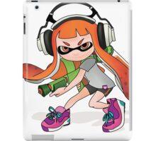 Splatoon Squid kid Nintendo Print iPad Case/Skin