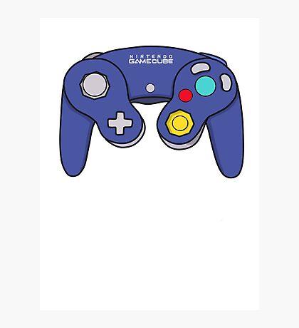 Nintendo Gamecube Controller Design Photographic Print