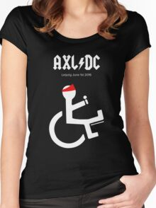 Funny AXL/DC Leipzig Women's Fitted Scoop T-Shirt