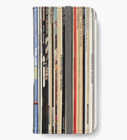 Vinyl Record Collector   iPhone Wallet/Case/Skin