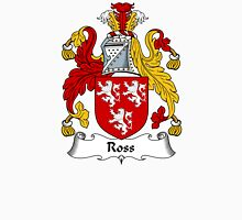 Ross Coat of Arms / Ross Family Crest Unisex T-Shirt