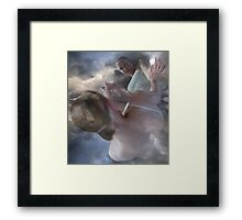 WATCHER WATCHING WITHIN Framed Print