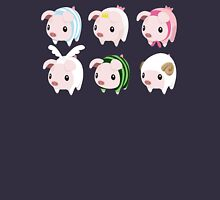 Poogie Piggie Monster Hunter Print all 6  Unisex T-Shirt