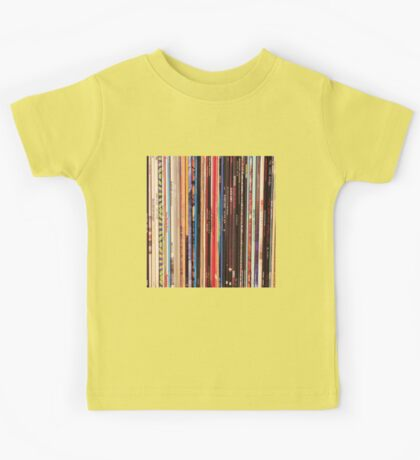 Vinyl Records Indie Rock  Kids Tee