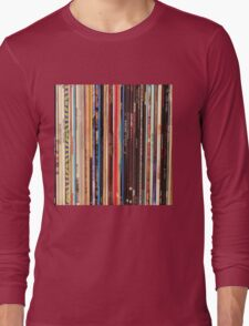 Vinyl Records Indie Rock  Long Sleeve T-Shirt
