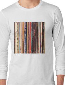 Vinyl Records Indie Rock  Long Sleeve T-Shirt