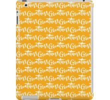 Greatness - Hand Lettering Design iPad Case/Skin