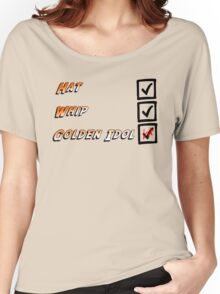 Indiana Jones Checklist Women's Relaxed Fit T-Shirt