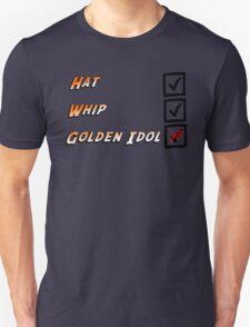 Indiana Jones Checklist Unisex T-Shirt