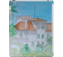 Watercolour View of a Portuguese House iPad Case/Skin