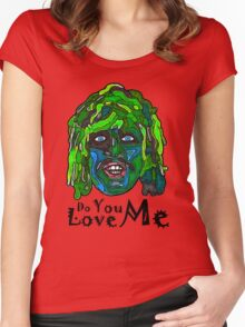 Old Gregg - Mighty Boosh - Do You Love Me? Women's Fitted Scoop T-Shirt