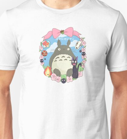 Studio Ghibli Design Unisex T-Shirt