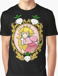Princess Peach Melee Taunt Design Graphic T-Shirt