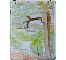Watercolour River View (Kenwood House) iPad Case/Skin