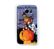 Halloween theme design illustration Samsung Galaxy Case/Skin
