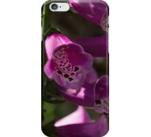 The Splendor of Foxgloves iPhone Case/Skin