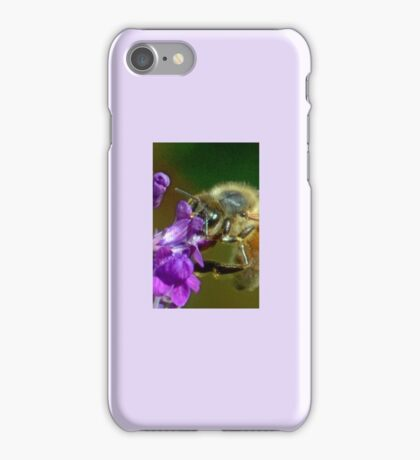 Busy Bee at work................ iPhone Case/Skin