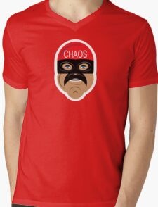 Captain Chaos Mens V-Neck T-Shirt