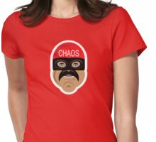 Captain Chaos Womens Fitted T-Shirt