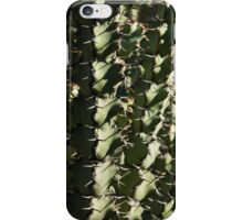 Sharp Shapes and Shadows - Cactus Garden iPhone Case/Skin