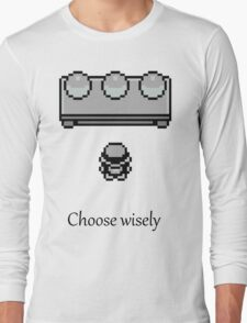 Pokemon - The choice Long Sleeve T-Shirt
