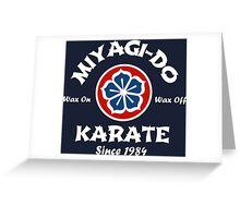 MIYAGI-DO Greeting Card