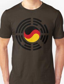 Korean German Multinational Patriot Flag Series T-Shirt