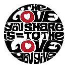The Love You Share by axemangraphics