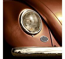Metallica ~ VW Beetle Image Photographic Print