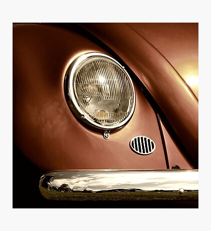Metallica ~ VW Beetle Image Photographic Print
