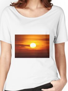 Sunset over the Sea Women's Relaxed Fit T-Shirt