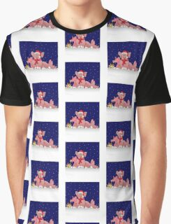 Christmas pigs for throw pillows Graphic T-Shirt
