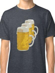 3 mugs of beer Classic T-Shirt