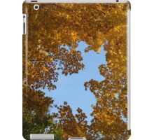 Brilliant Autumn Canopy - a Window to the Sky Vertical iPad Case/Skin