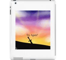Try Again? iPad Case/Skin