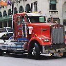 Massive NY truck by Jonesyinc