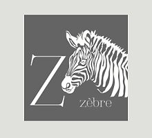 ABC-Book French Zebra Unisex T-Shirt