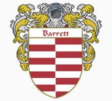 Barrett Coat of Arms/ Barrett Family Crest One Piece - Short Sleeve