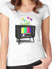 Test Garden Women's Fitted Scoop T-Shirt