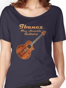Ibanez Acoustic Guitars Women's Relaxed Fit T-Shirt