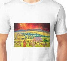 Church on the approach to Mount Doom Unisex T-Shirt
