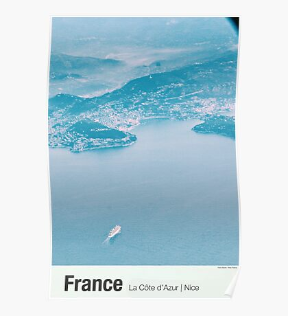 France | From Above (Nice) Poster