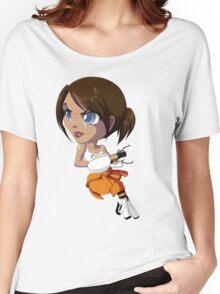 Portal: Chell Women's Relaxed Fit T-Shirt