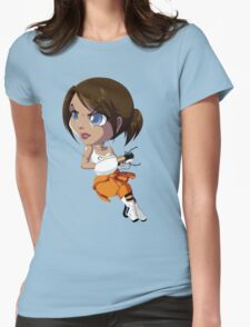 Portal: Chell Womens Fitted T-Shirt