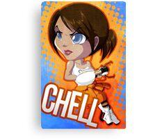 Portal: Chell Canvas Print