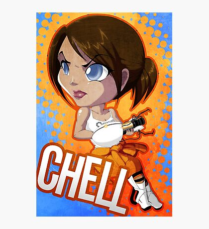 Portal: Chell Photographic Print