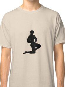 Bodybuilder showing muscles Classic T-Shirt