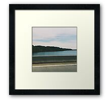 Lakeside View VA Serene Framed Print