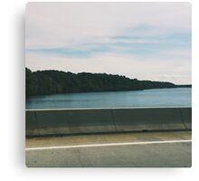 Lakeside View VA Serene Canvas Print