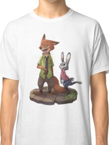 Zootopia - Nick and Judy Classic T-Shirt